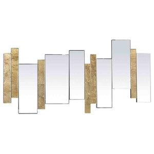 EMDE Axel Barres Wall Mirror, Gold