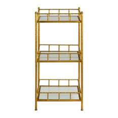 Uttermost - Tilly Gold Accent Shelf Table - Display and Wall Shelves