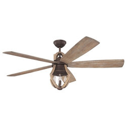 Farmhouse Ceiling Fans by Lighting and Locks