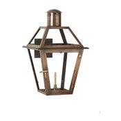 "Bourbon Street Outdoor Lantern  15"" x 9.75"" Gas"