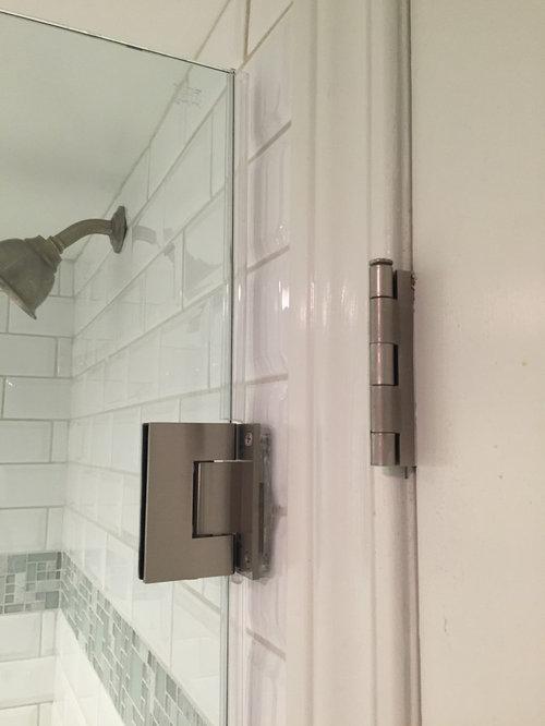 Frameless Shower Door Please Help, Glass Shower Door Shield