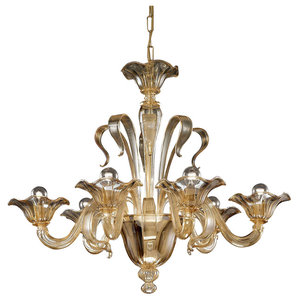 Perpetua Murano Glass Chandelier
