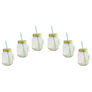 Ice Cold Drink Mugs, Set of 6