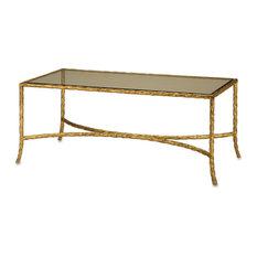 Gilt Twist Rectangular Table