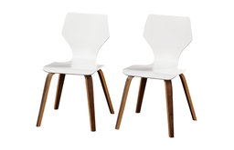 angelo:HOME Westley Bentwood Chair, Set Of 2, White