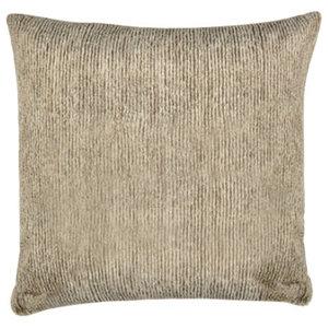 Corded Oatmeal Fur Pillow, 51x51cm