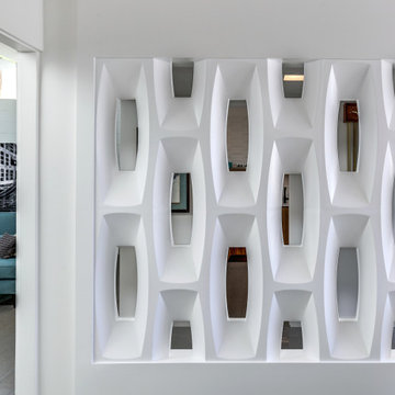 Molded Screen Wall Inspired by Breeze Block