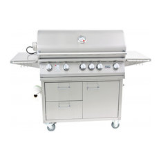 """Lion Premium Grills L90000 40"""" Gas Grill & Grill Cart, Natural Gas"""