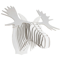 Epic Contemporary Wall Accents by Cardboard Safari