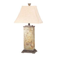 Bennington One Light Table Lamp Natural Slate by kenroyhome.com
