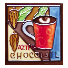 Azteca Chocolate Dark Coffee Tile