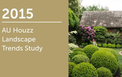 2015 AU Houzz Landscape Trends Study