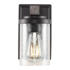 Bungalow Iron LED Vanity Light, Oil Rubbed Bronze , 1 Bulb