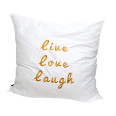 - Live Laugh Love Pillow Cushion - Scatter Cushions