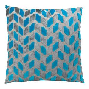 Plutus Deep Sea Dive Handmade Throw Pillow, Double Sided, 22x22