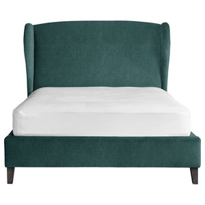 Penelope Bed, Teal, UK Super King