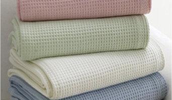 Pure Cotton Waffle Blanket / Bedspread
