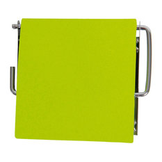 Wall Mounted Bathroom Toilet Paper Tissue 1 Roll Dispenser Finish, Lime Green