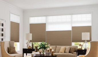 Honeycomb Shades - Traditional Living Room