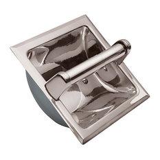 Liberti Series Recessed Paper Holder, Polished Nickel