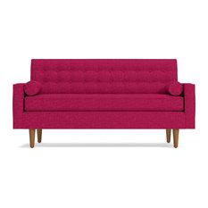 "Saturn Apartment Size Sofa, Pink Lemonade, 69""x37""x32"""