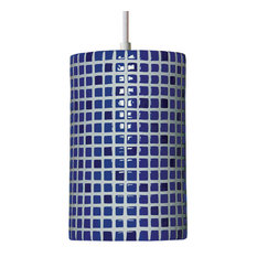 A19 Lighting   Confetti Pendant, Cobalt Blue   Pendant Lighting