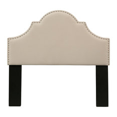 Portman Headboard, Ivory, Queen