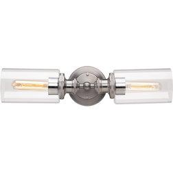 Industrial Bathroom Vanity Lighting by Progress Lighting
