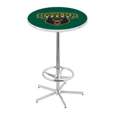 L216 - 42-inch Chrome Baylor Pub Table By Holland Bar Stool Co.