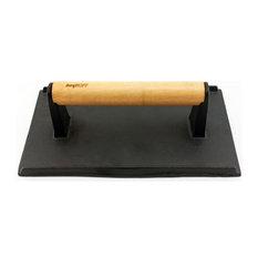 BergHOFF International Inc. - Cast Iron Bacon / Steak Press L - Grill Tools & Accessories