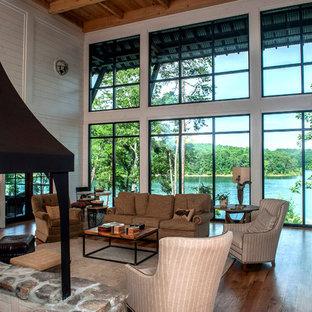 Modern Rustic Lake House