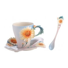 Franz Cup/Saucer/Spoon Four Seasons Chrysanthe