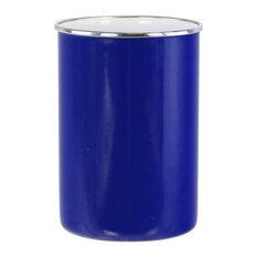 Reston Lloyd Calypso Basics Enamel on Steel Utensil Holder, Indigo