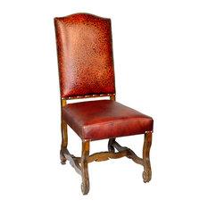 233 Italian Leather Side Chair