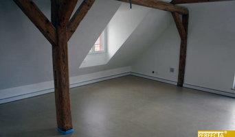 PERFECTA-Heizleisten in einem renovierten Dachboden
