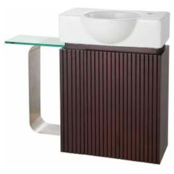 Marvelous Contemporary Bathroom Vanities And Sink Consoles by KnobDeco