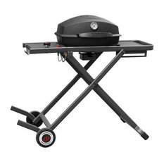 Landmann Usa 42235 Pantera Portable Gas Grill With Folding Cart