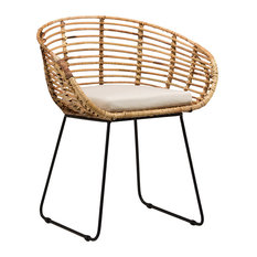 Design Mix Furniture   Rattan Dining Chair   Dining Chairs