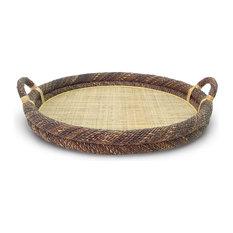 Round Havana Rope Top Tray