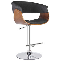 Midcentury Bar Stools And Counter Stools by AC Pacific Corporation