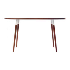 midcentury oval dining tables houzz