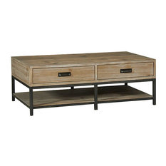 Hammary Furniture   Parsons Rectangular Cocktail Table By Hammary,  Sandalwood   Coffee Tables