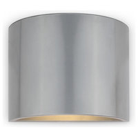 Will Polished Steel Outdoor LED Wall Light