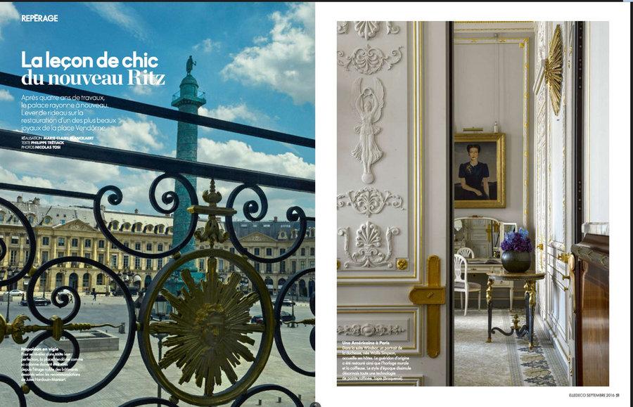 Agence Atelier COS - Hotel Ritz Paris