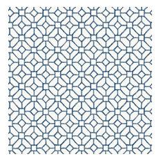 Gigi Geometric Wallpaper, Navy