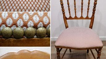 Réfection d'une chaise