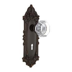 Nostalgic Warehouse Victorian Plate with Keyhole Single Dummy Waldorf Door Knob