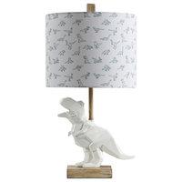 Geometric T-Rex Table Lamp