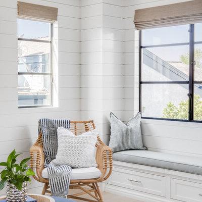Home design - coastal home design idea in Orange County
