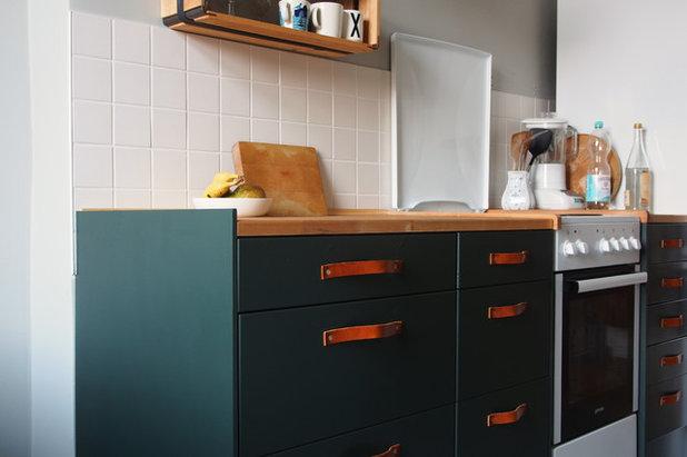 Küchenfronten lackieren   so bringen sie farbe in die küche!